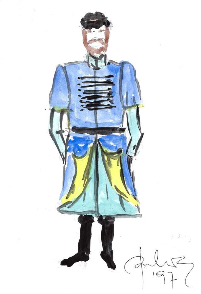 Projekt stroju Policjanta Bartłomieja autorstwa Wawrzyńca Szuszkiewicza (1997)