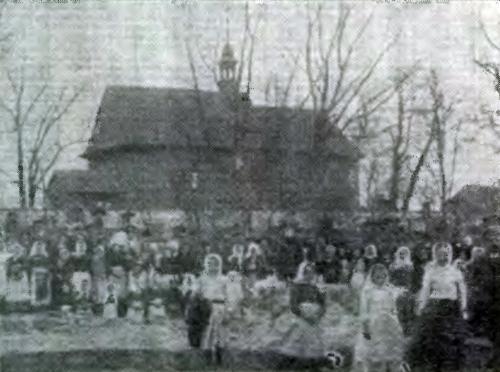 """Kościół weWsoli - miejsce chrztu Jana Kloczkowskiego - """"Dekanat Radomski"""", ks.Jan Wiśniewski, Radom 1911, str. 397"""